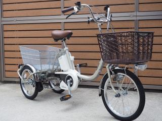 【下鴨店】パナソニック ビビライフ 重い荷物の運搬にもってこいの電動三輪車