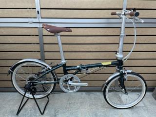 【下鴨店】クロモリフレームの折りたたみ自転車 DAHON Boardwalk D7