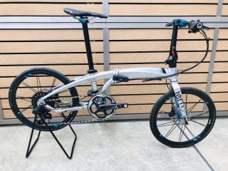 【下鴨店】超ワイドギア搭載折りたたみ自転車 TERN VERGE X11(2020年モデル)