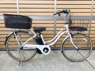 【下鴨店】数量限定!Panasonic電動自転車 後バスケット&空気入れポンプ プレゼント